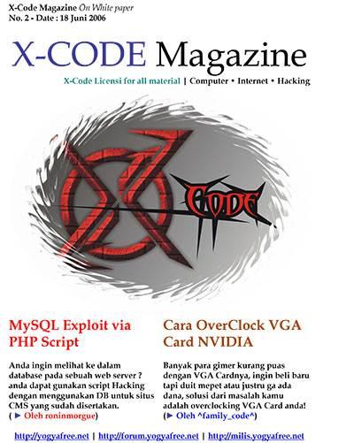 Download Majalah XCode BIndonesia Edisi 1-5 - Gelap