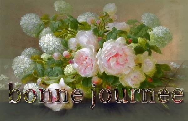 Images pour blogs et Facebook: Panneaux fleuris BONNE JOURNEE