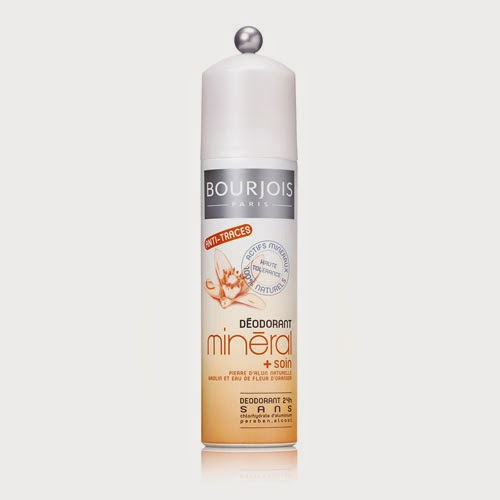 [Bourjois] Déodorant minéral à la pierre d'alun et fleur d'oranger