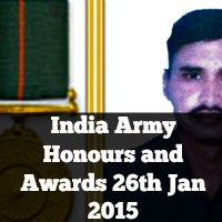 India Army Honours and Awards 26th Jan 2015 66th Republic Day