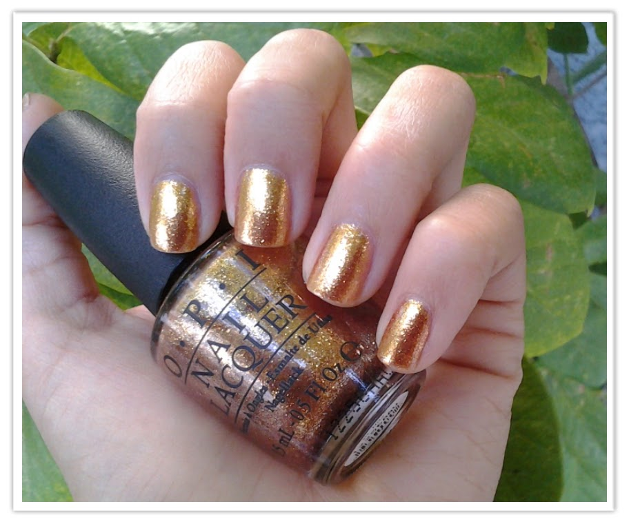 Opi Goldeneye What I Blog About When...