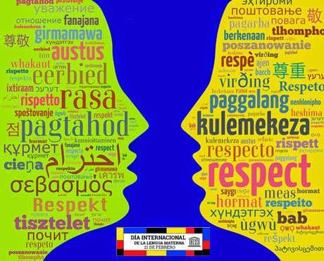 Afiche Día Internacional de la Lengua Materna 2015 - UNESCO