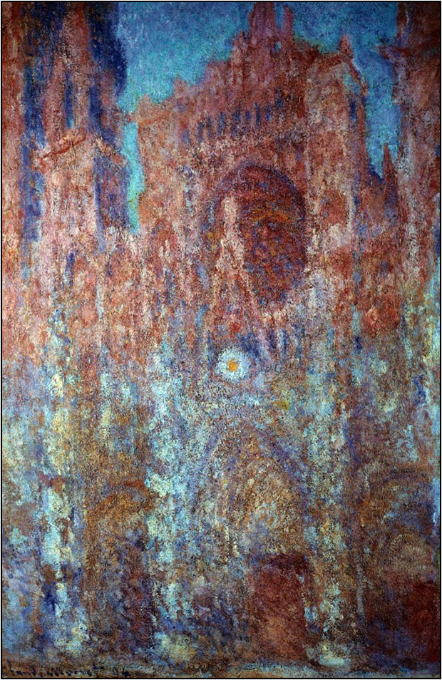 Impressionism Monet Rouen Cathedral - 1463.7KB