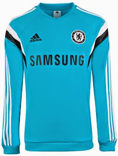 jual jersey chelsea prematch, sweater bola prematch, baju training chelsea 2014/2015.