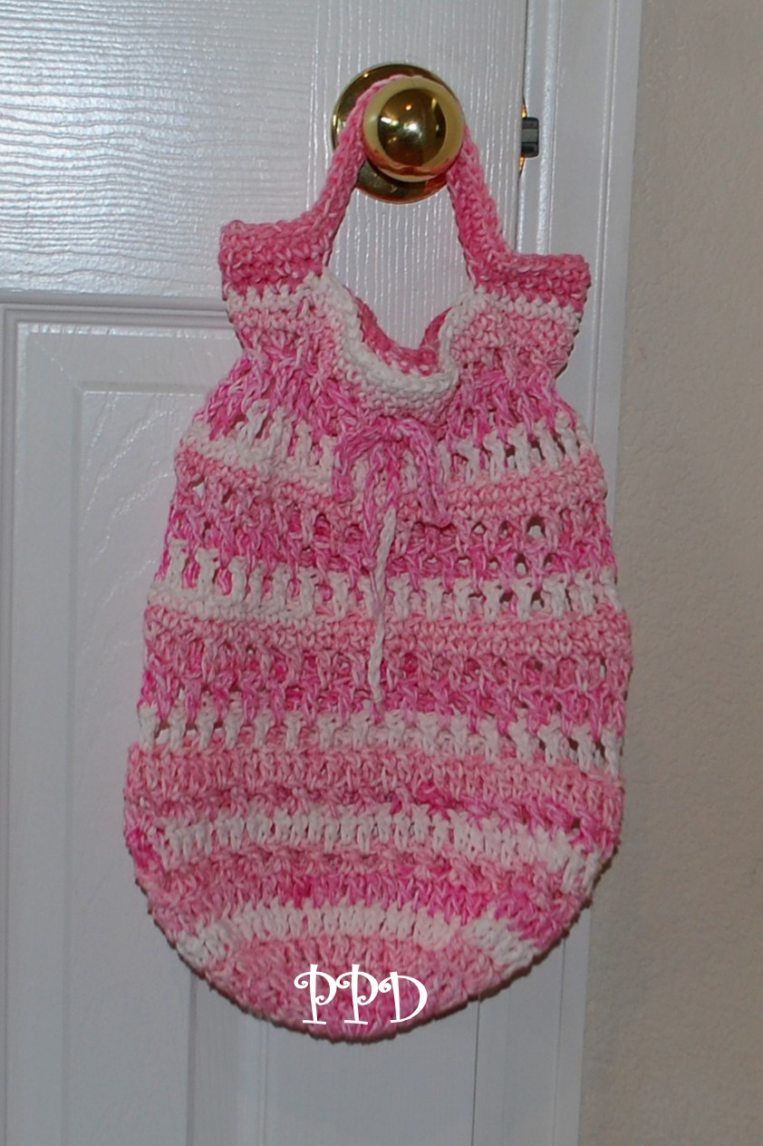 ... Designs Dog Clothes: Round Bottom Cotton Shopping Bag Crochet Pattern