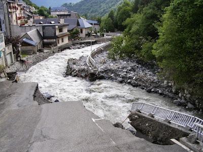 Inondations barrèges juin 2013