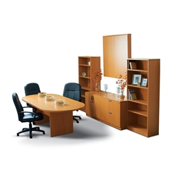 7 Piece Conference Room Furniture Set