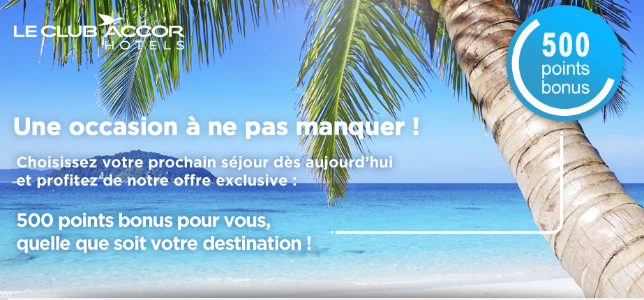 Accor points bonus