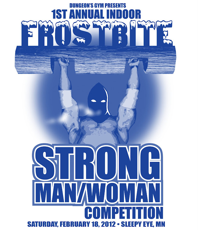Strong Man Competition Logo Frostbite strong man womanStrong Man Logo