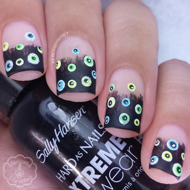 13 Days of Halloween: Eyeball Nailart