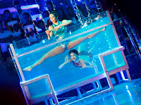 Anne Curtis and karylle do synchronize swimming