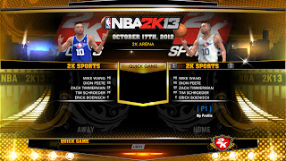 NBA 2K13 PC - 2K Sports Team Unlocked