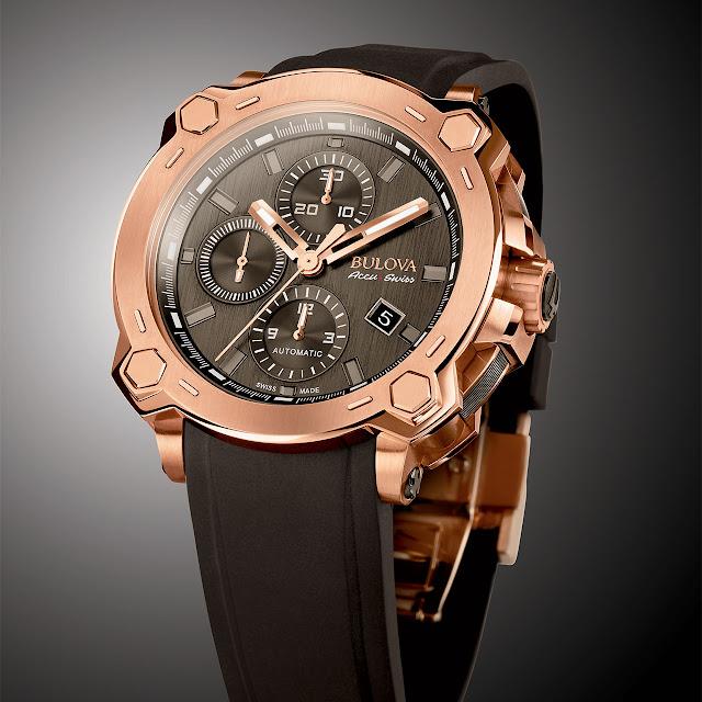 Bulova Chronographe Percheron Mechanical Automatic Watch