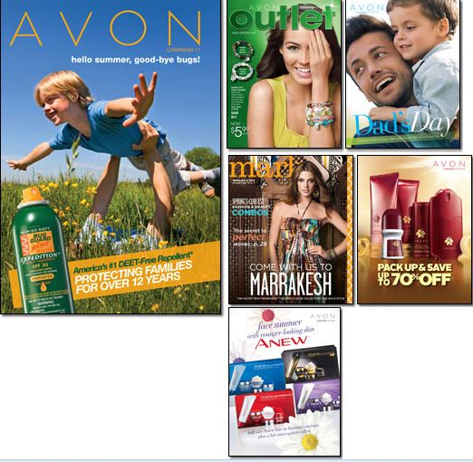 Avon Brochures May 2013
