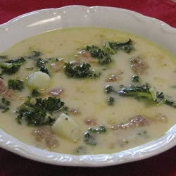 Zuppa Toscana Soup, Click for Recipe