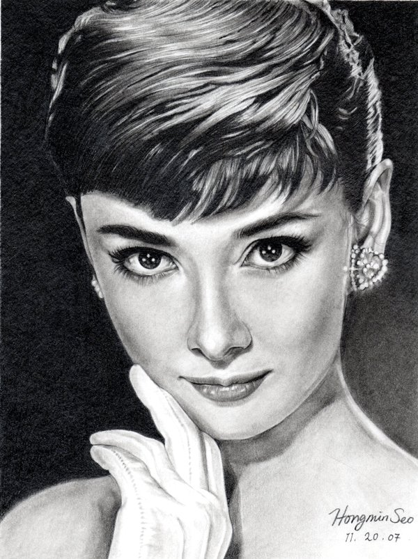 Audrey Hepburn - Michelle Seo Hongmin