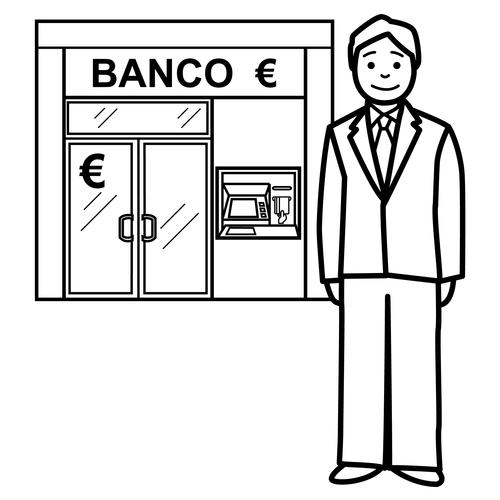 Bancos Para Dibujo Dibujos de Banco Para Colorear