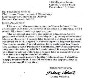 cover letter closing sentence