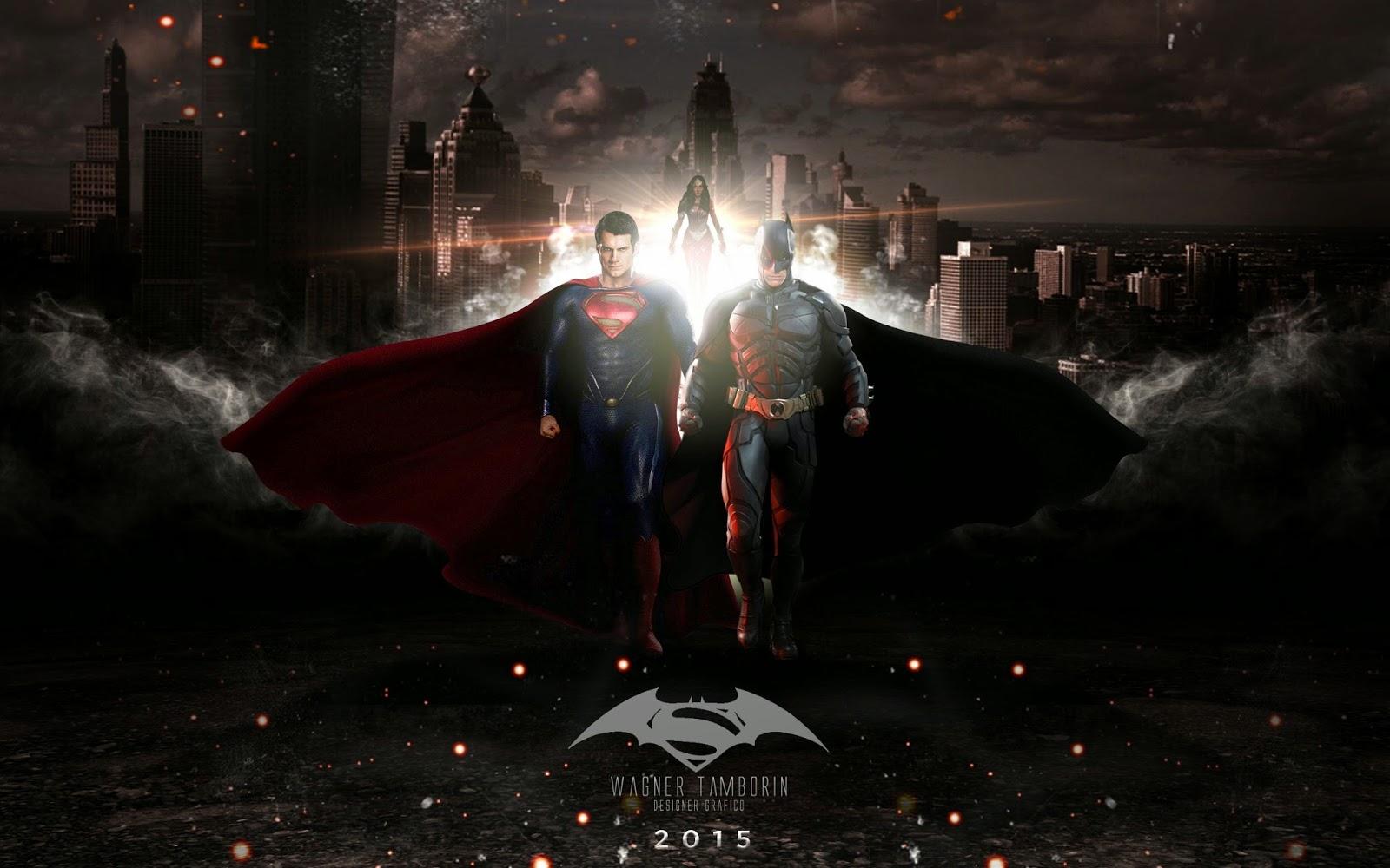 Papel de parede Batman vs Superman A Origem da Justiça