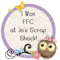 Jo's Scrap Shack - 4 images Little Blue Button