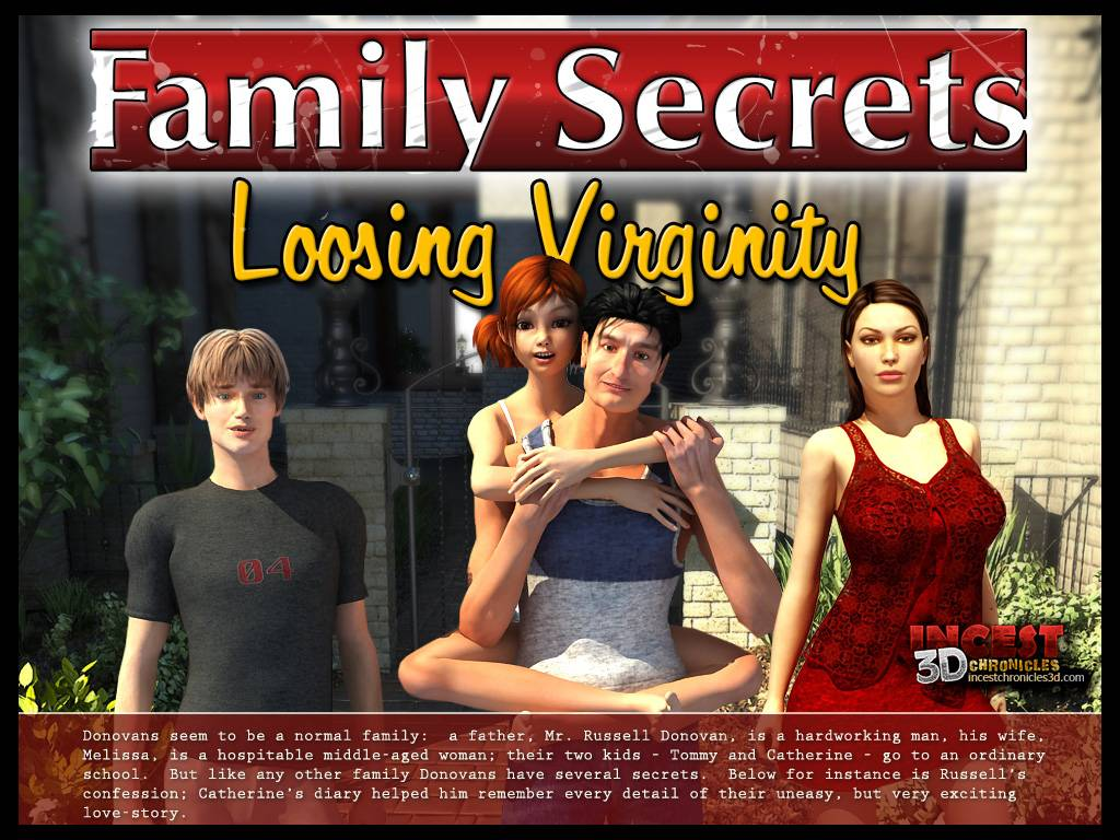 Family Secret's 1 - Losing Virginity