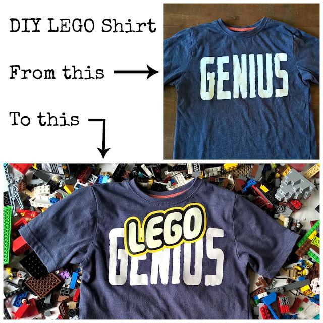 Lego Genius shirt