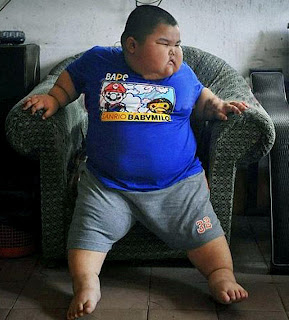 Lu Zhi-hao; world's fattest 4-year-old