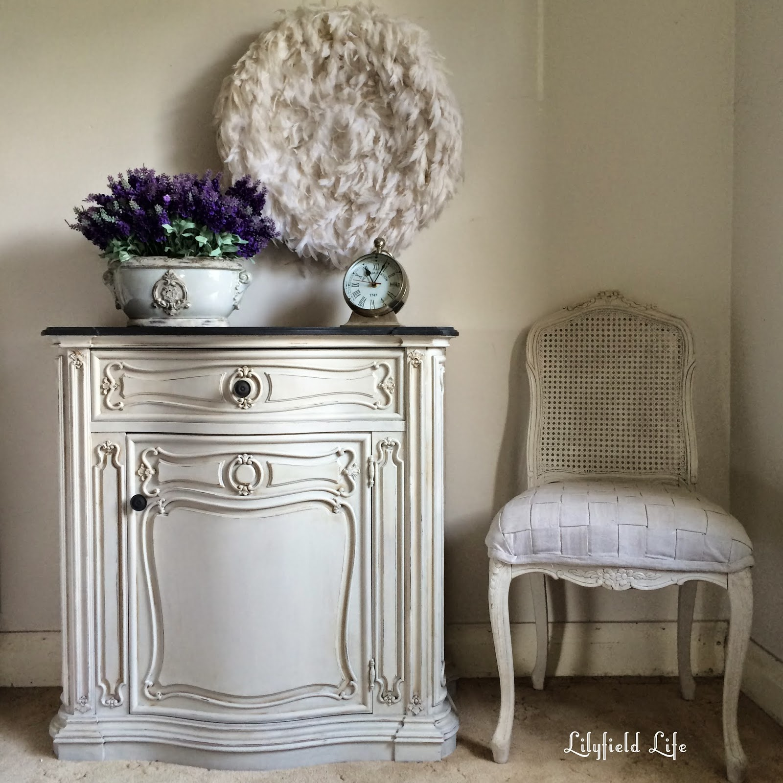 french hand painted furniture by Lilyfield Life