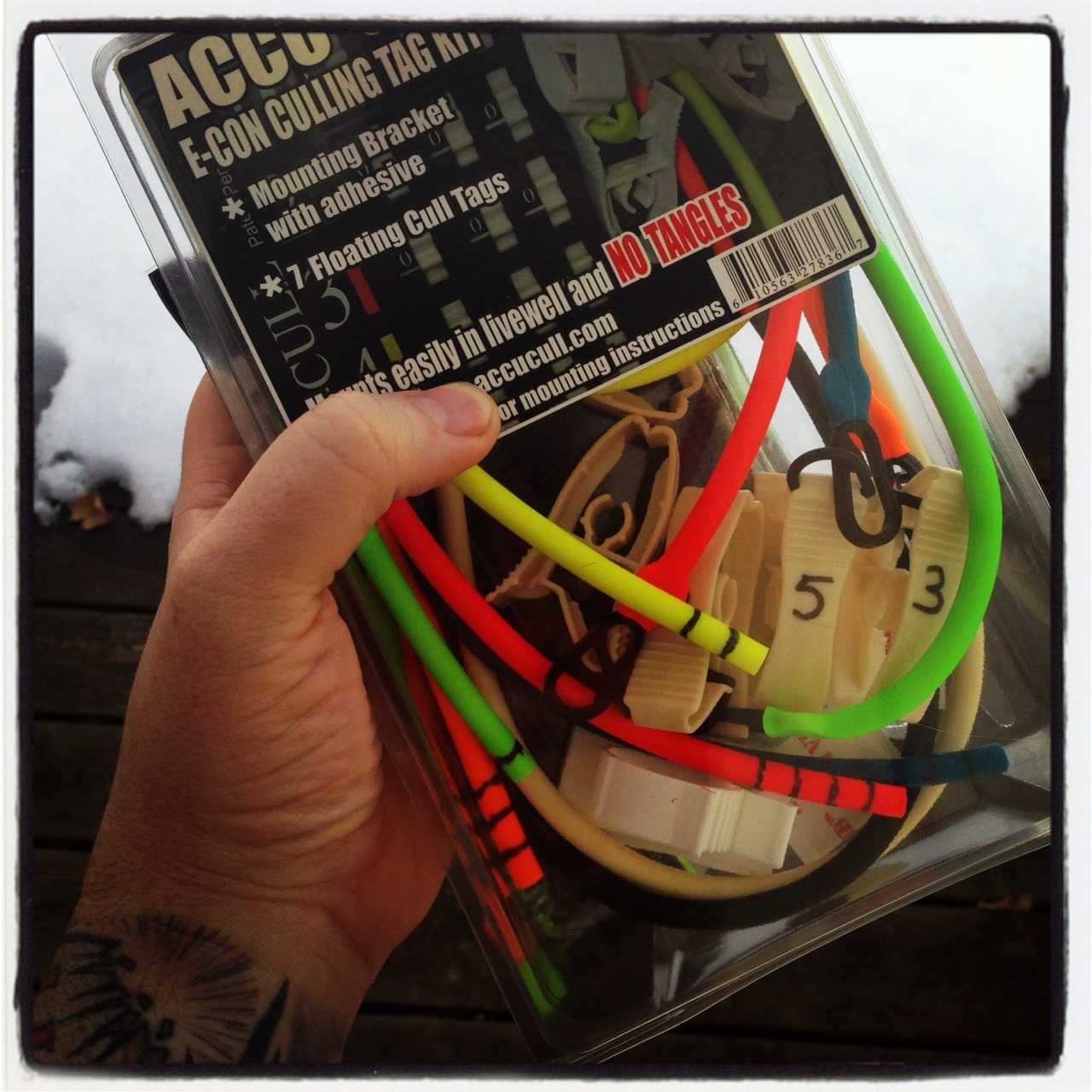 Bass junkies fishing addiction accu cull these aint for Fish culling system