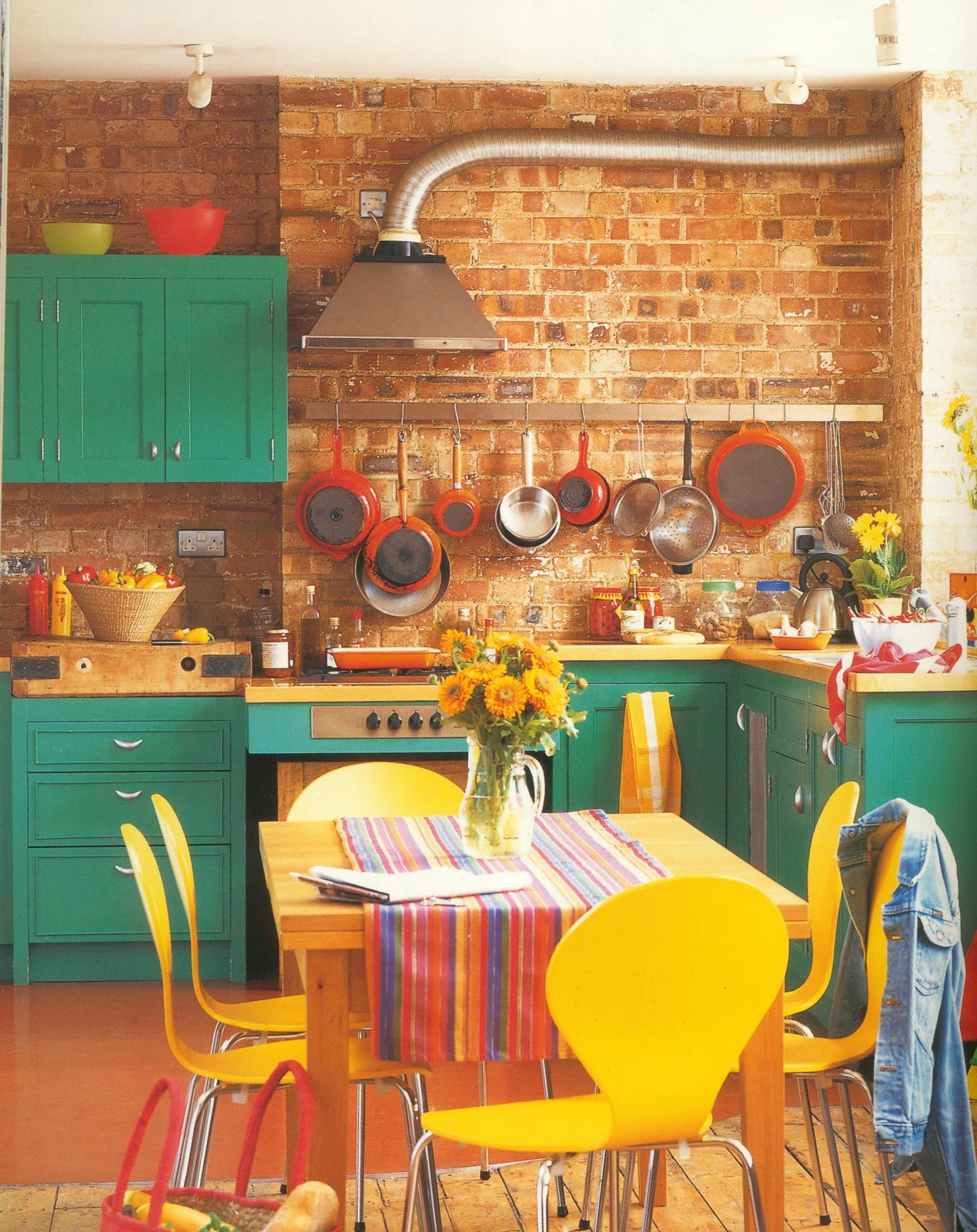 Bright Kitchen Enchanting Of Kitchen with Bright Color Photos