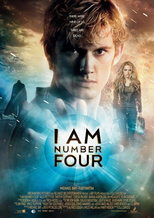 Eu Sou o Número Quatro Dublado 2011
