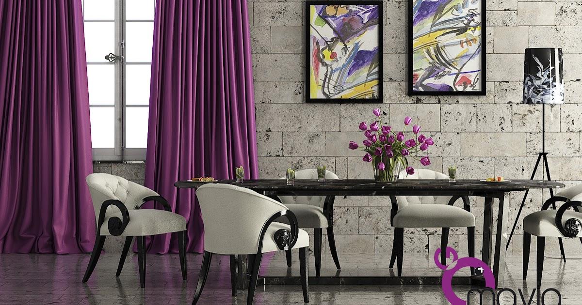 Arredamento di interni sala da pranzo moderna 3d arredamento casa e rendering fotorealistico - Arredamento sala da pranzo moderna ...