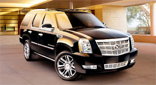 Black on Black Escalade