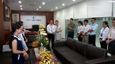 Thép Toàn Thắng - Chúc mừng sinh nhật SẾP TUẤN 02.07.2015