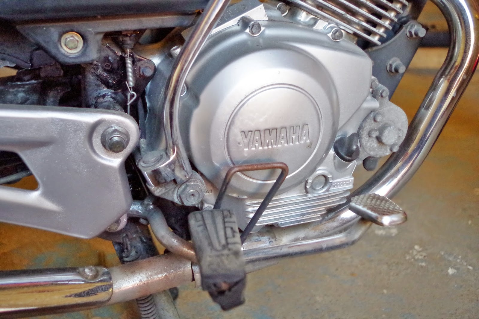 Yamaha YBR 125 Owner Blog : Yamaha YBR 125 Brake Problems