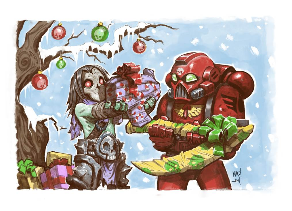 Defenders of Calth: Merry Christmas! Happy New Year!