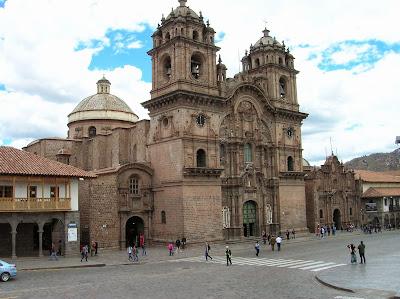 Templo de la Compañía de Jesús, Cusco, Perú, La vuelta al mundo de Asun y Ricardo, round the world, mundoporlibre.com
