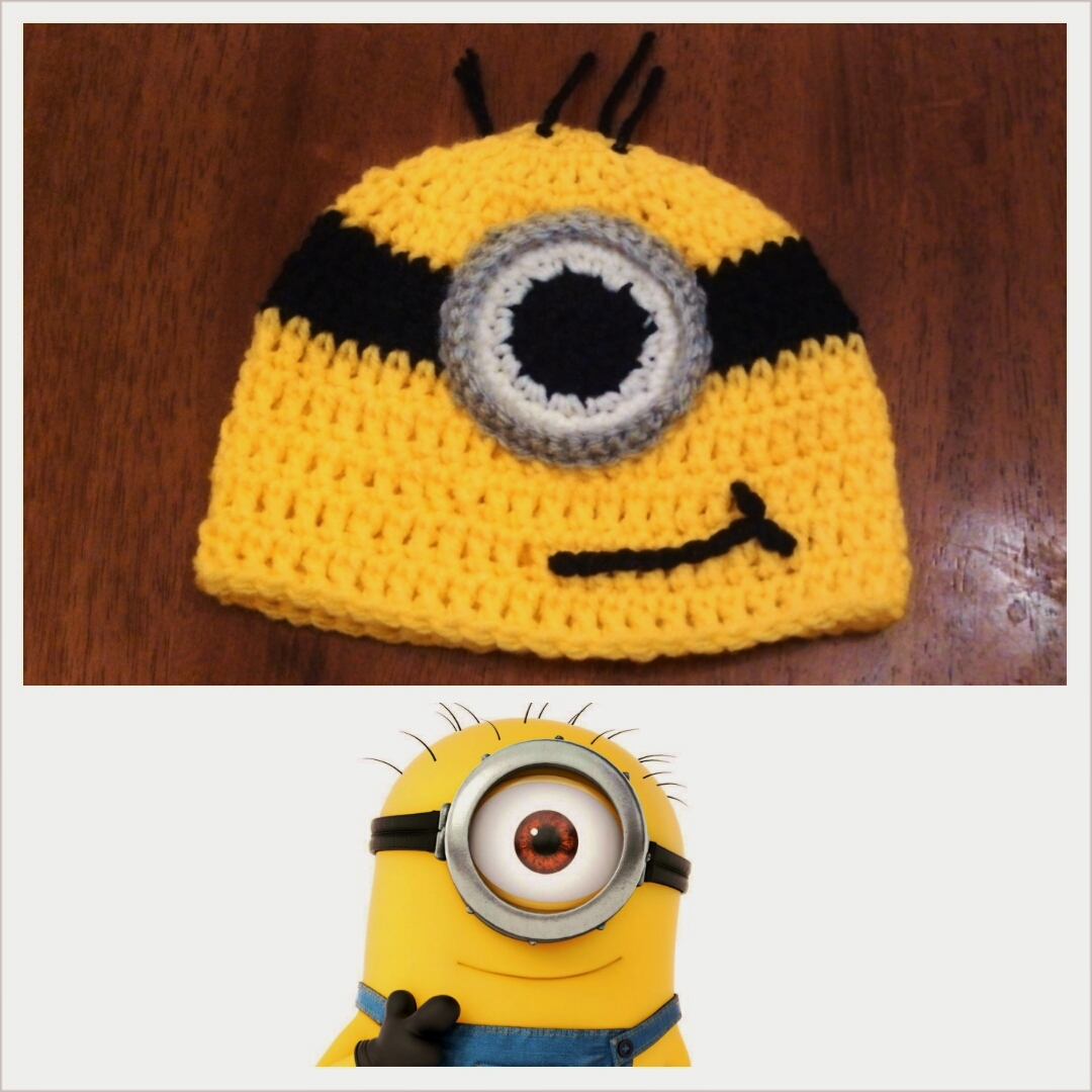 Crochet Pattern Minion : Butterflys Creations: Minion Beanies