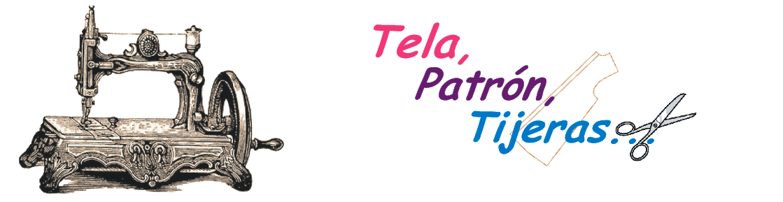 Tela Patrón Tijeras