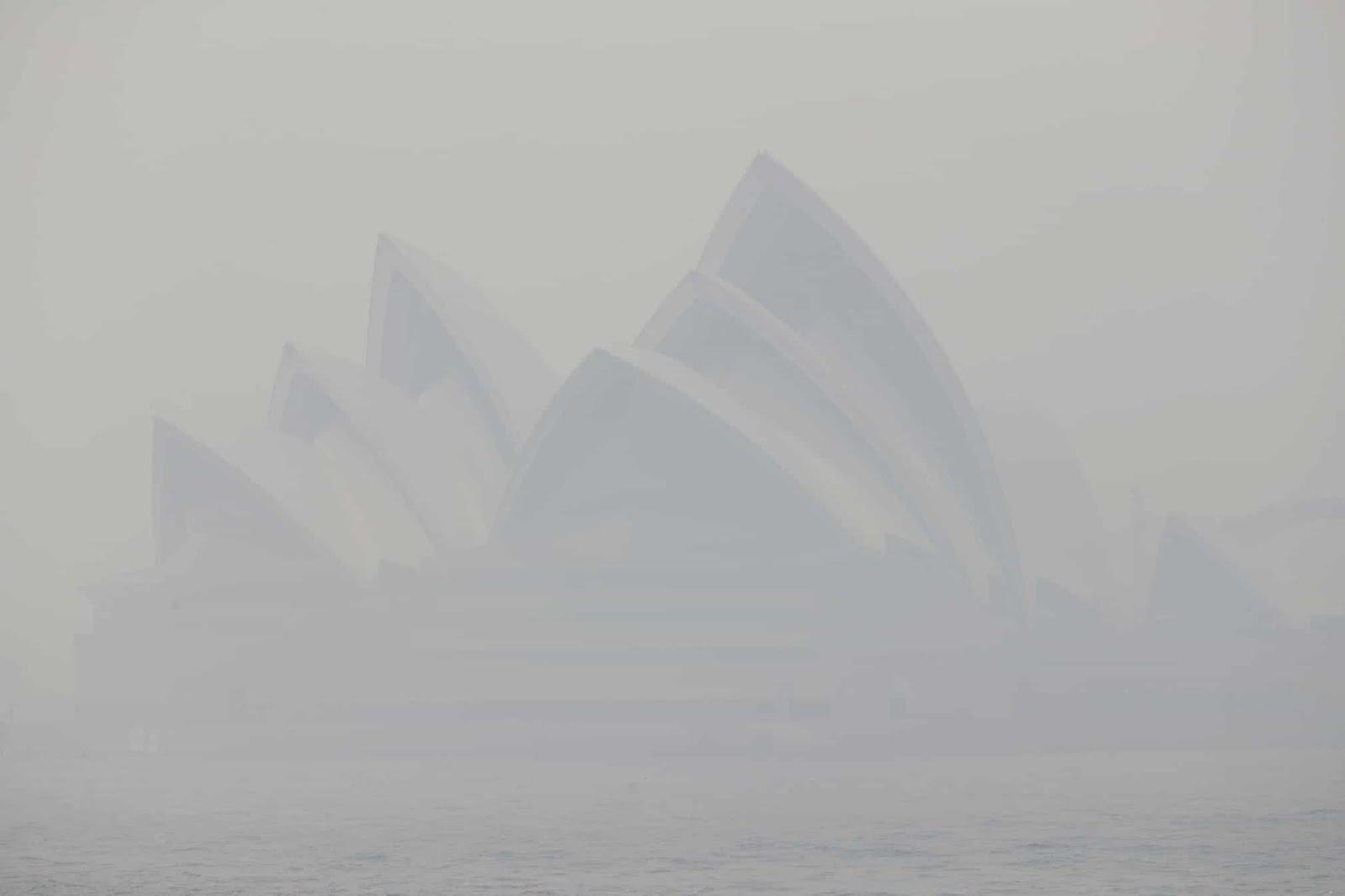 Sydney on fire