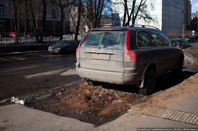 Bad Russian Roads Seen On www.coolpicturegallery.us