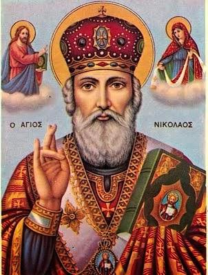 Sfantul Ierarh Nicolae ocrotitorul meu