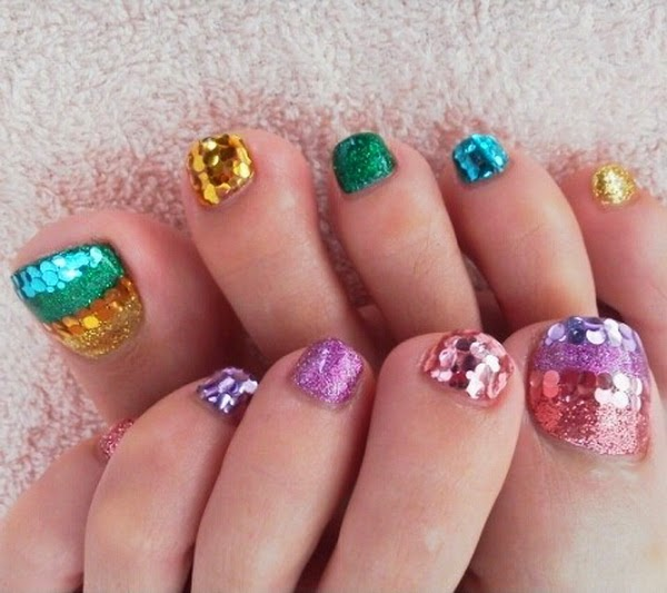 Nails for feet - Uñas para los pies 2015 - 2016 - 2017