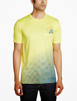 Buy Chennai Super Kings Dotted Design T-Shirt Rs. 489 only at Amazon.