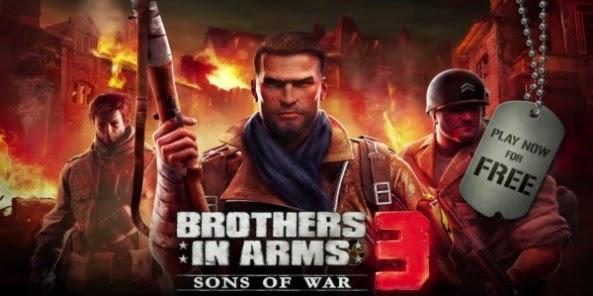 Brothers in arms 3 v1.1.0k + (Mod) [Link Direto]