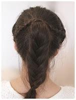 cara mengikat rambut tocang