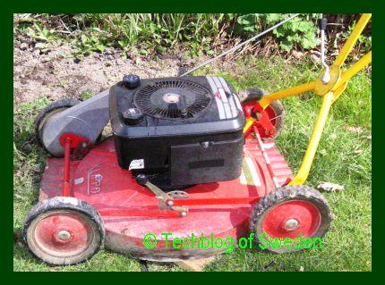 Olja till gräsklippare klippo
