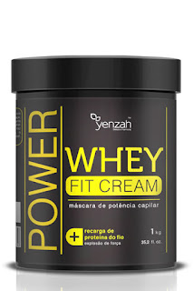 Máscara de tratamento Whey Fit Cream