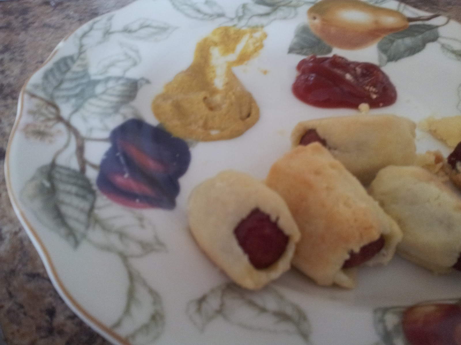 Gluten Free Winter Story : Day 1: Pigs in a Blanket