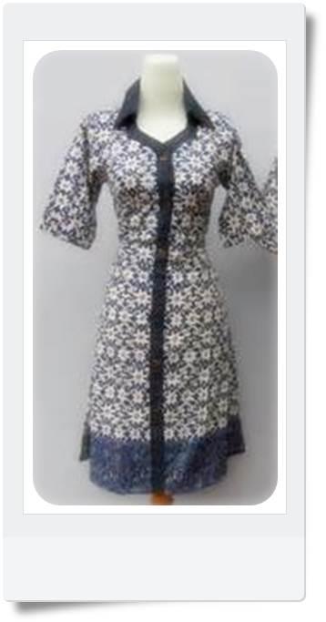 Model Baju Batik Model Baju Batik Wanita Masa Kini